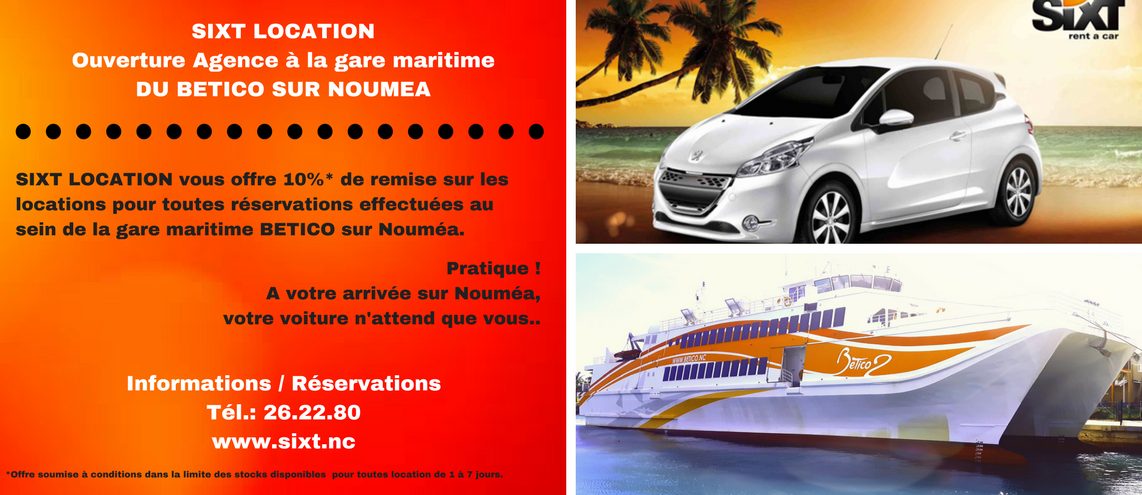NOUVELLE AGENCE SIXT LOCATION